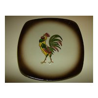 Orchard Ware Dinner Plate ~ Hand Painted ~  1950's