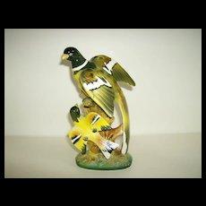 Porcelain Bird Figurine ~ Made in Japan