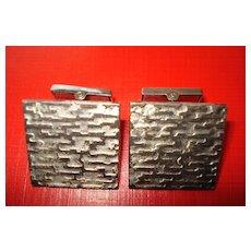 .830 Silver  Cufflinks.