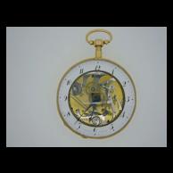 Antique 18K Gold Skeletonized Quarter Repeater Fusee Pocket Watch