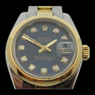 Ladies' Rolex Datejust Two-Tone