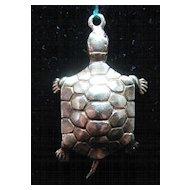 Vintage 14K Gold Turtle Charm