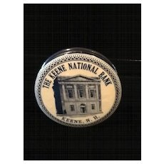 Celluloid Pocket Bank-Keene National Bank-Keene, NH