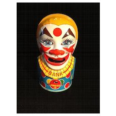 Mechanical Clown Bank-Round Trap