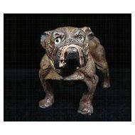 Vintage Bulldog Figurine