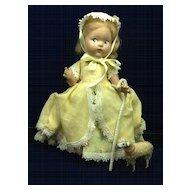 Vintage Vogue Toddles Bo Beep Doll and sheep