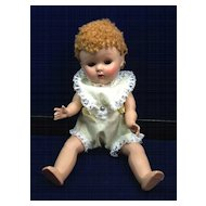 Vintage 1952 Caracul (Poodle) Wigged Vogue Ginny Doll