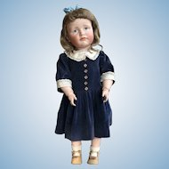 Great K & R 114 character doll, 22""