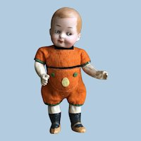 Ernst Heubach character boy Doll, all original