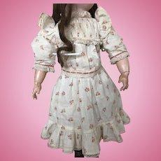 """Original Jumeau dress ! """"Chemise de présentation"""""""