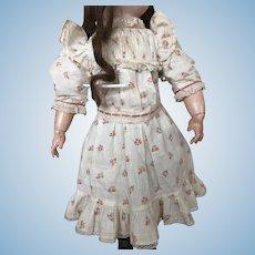 """Original Jumeau dress ! """"Chemise de présentation"""" free shipping"""