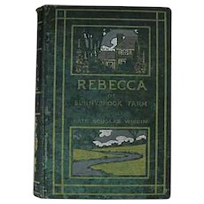 RARE 1903 'Rebecca of Sunnybrook Farm' True First Edition, Kate Douglas Wiggin, Antiquarian, Children's Literature, Pages EXCELLENT!