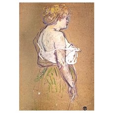 RARE 'Toulouse Lautrec' 1990 First Edition, Paintings, Impressionism, Moulin Rouge, High Quality Large Color Plates, Pages Mint, OUT-of-PRINT