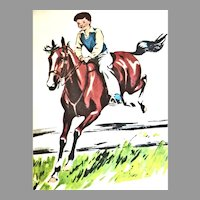 RARE 1951 'Today We Go' Reader, Dick and Nancy, First Edition, 'C.W. Anderson' Horse Illustrations, Ann Nolan Clark, 'Indian Boy's Song', Tammie the Scottie Dog, Minority Characters