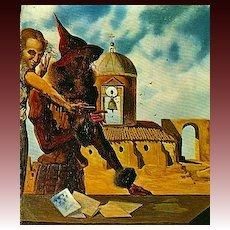 1974 Salvador Dali, Paintings,DJ, First Edition, Modern Art, History, Illustrations