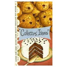 """SCARCE 1950 NESTLE Chocolate """"Collector's Items"""" Cookbook - Advertising / ILLUSTRATED / Cookies / Vintage"""