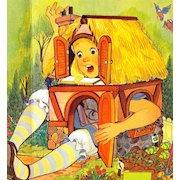 1987 'Alice's Adventures In Wonderland' 1st Ed, Hallmark Pop-Up, Illustrated