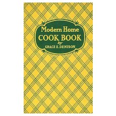 SCARCE 1938 'Modern Home Cook Book' Illustrations - Cookery / Recipes / Classic