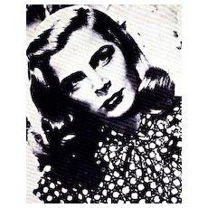 1972 1st Ed 'Paramount Pretties' DJ 1st Print / Photographs - Movie Memorabilia / Hollywood Sex Symbols
