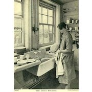 SCARCE 1920's `Everywoman's Home Doctor' Illustrated – Health / Medicine / Fitness / Home Design / Child Care