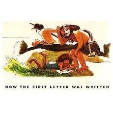 RARE 1952 `Just So Stories' w/ DJ Rudyard Kipling – Out-Of-Print Illustrations by Nicholas / Animal Tales
