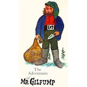 RARE 1964 1st Ed 'The Adventures Of Mr. Gilfump' w/ DJ - Illustrated Christmas Fairy Tale / Fantasy / Out-Of-Print