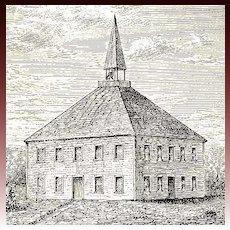 1915 1st Ed 'Deborah Moses' Illustrated Historical Fiction - Colonial New England, Indians, Pilgrim Settlement