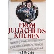 1975 'From Julia Child's Kitchen' Cookbook, 1st Ed w/ DJ, Illustrated - French Cooking, American Cuisine, Entertaining