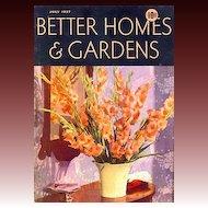 July, 1937 Better Homes & Gardens Magazine, Advertising - Architect Robert Carr, Modern Homes,  Interior Design