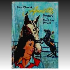 Walt Disney ANNETTE 'Mystery at Medicine Wheel' 1964 1st Ed - Annette Funicello, Mousketeer, Illustrations, Mystery, Scarce