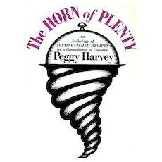 1964 'The Horn of Plenty' Cookbook, DJ, RARE 1st Ed, Anthology - Julia Child, James Beard, Dione Lucas, Fannie Farmer