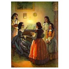1947 'Little Women' Louisa May Alcott, 1st Ed, DJ, Louis Jambor llustrations