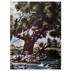 1947 Little Men, Louisa May Alcott, 1st Ed, DJ, Douglas W. Gorsline Illustrations