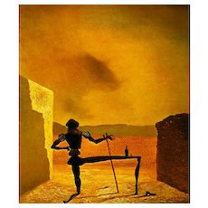 'Salvador Dali' 1990 1st Ed, DJ, Paintings, Modern Art, Surrealism