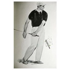 1964 'Golf Magazine's Your Long Game' Gene Sarazen, Illustrated 1st Ed, DJ, Jimmy Demaret, Peggy Kirk Bell, Golf Techniques