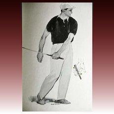 1964 'Golf Magazine's Your Long Game' Gene Sarazen, Illustrated 1st Ed, DJ, Jimmy Demaret, Peggy Kirk Bell, Golf Techniques