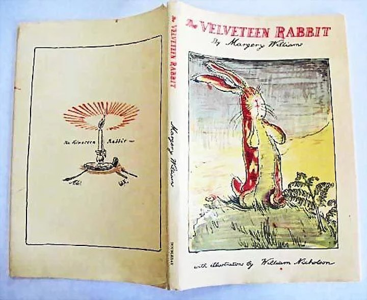 1970 S The Velveteen Rabbit Dj William Nicholson Illustrations