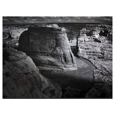 1986 Ansel Adams 'Classic Images', RARE First Edition, First Printing, DJ, Photographs, American West, Southwest, New England, Georgia O'Keefe Photograph, James Allinder, John Szarkowski, Out-of-Print