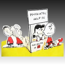 1972 The Peanut Philosophers' A Hallmark Pop Up Book, Charles Schultz, RARE First Edition, Charlie Brown, Peanuts Gang, Comics, Out-of-Print, Hardcover