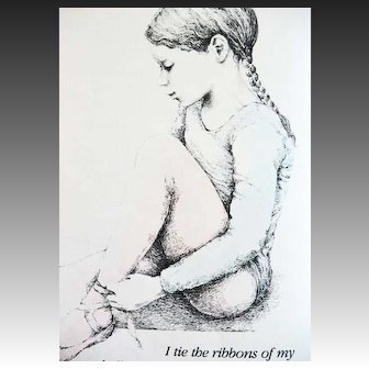 1980 'My Ballet Class' Rachel Isadora, RARE First Edition, First Printing, Ballerinas, Art, Ballet Dancers, Picture Book, Performing Arts, Boston Ballet