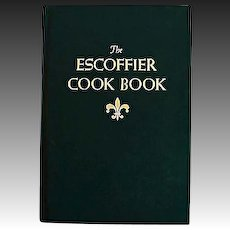 1969 'The Escoffier Cook Book' RARE First American Edition, Auguste Escoffier, Classic Guide Culinaire, Master Chef, Bible of Culinary Art, French Haute Cuisine, Pages MINT