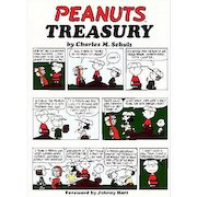 1968 'Peanuts Treasury' RARE Stated First Edition, First Printing, Unclipped DJ, Cartoons, Charlie Brown, Charles Schultz, Snoopy, Comic Strip, MINT Pages, Hardcover