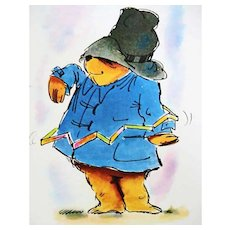 1976 'The Great Big Paddington Book', RARE First American Edition, First Printing, Paddington Bear of London, Michael Bond, Ivor Wood Illustrations, Stories, Recipes, Christmas Crafts, Magic Tricks