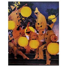 The Maxfield Parrish Pop-Up Book, 1994 RARE First Edition, Art, Paper Engineering by John Strejan, The Dinkey-Bird, The Lantern Bearers, Daybreak, OUT-of-PRINT
