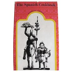 1966 'The Spanish Cookbook', RARE First Edition, Unclipped DJ, Barbara Norman, Spanish Cooking, Professional Chefs, Mediterranean Cooking, International Cuisine, Pages MINT, Vintage, OUT-of-PRINT