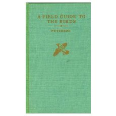 1961 National Audubon Society 'Field Guide to the Birds' Peterson - Vintage