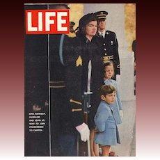 1963 Life Magazine - President John F. Kennedy Funeral - Vintage December 6th