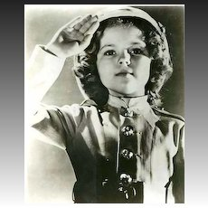 SCARCE 1950's Shirley Temple Hollywood Studio Photograph - Movie Memorabilia / Child Stars / Musicals / Vintage