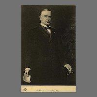 1907 Antique 'William McKinley' Presidential Portrait, Fine Art, Gravure Print, Antique Art, History