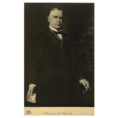 1907 Antique 'William McKinley' Presidential Portrait, Fine Art, Gravure Print, Antique Art, History